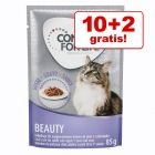 10 + 2 offerts ! Concept for Life 12 x 85 g pour chat