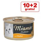 10 + 2 offerts ! Miamor 12 x 85 g pour chat