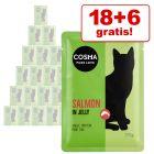 18 + 6 offerts ! Sachets Cosma 24 x 100 g