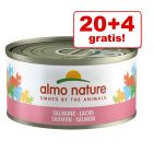 20 + 4 offerts ! 24 x 70 g Boîtes Almo Nature 1,68 kg