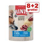 8 + 2 offerts ! 10 x 400 g Rinti Leichte Beute