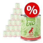 19 + 5 offerts ! 24 x 800 g zooplus Bio