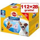 112 + 28 offerts ! 140 x Pedigree Dentastix pour chien