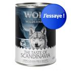 Offre d'essai mixte Wolf of Wilderness Adult The Taste Of