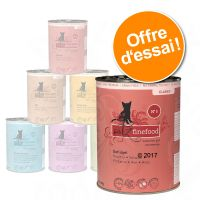 Offre découverte catz finefood 6 x 400 g pour chat