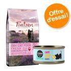 Offre découverte chaton Purizon 400 g & Cosma Nature 6 x 70 g