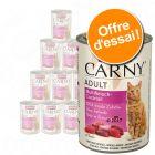 Offre découverte de boîtes Animonda Carny Adult 12 x 400 g