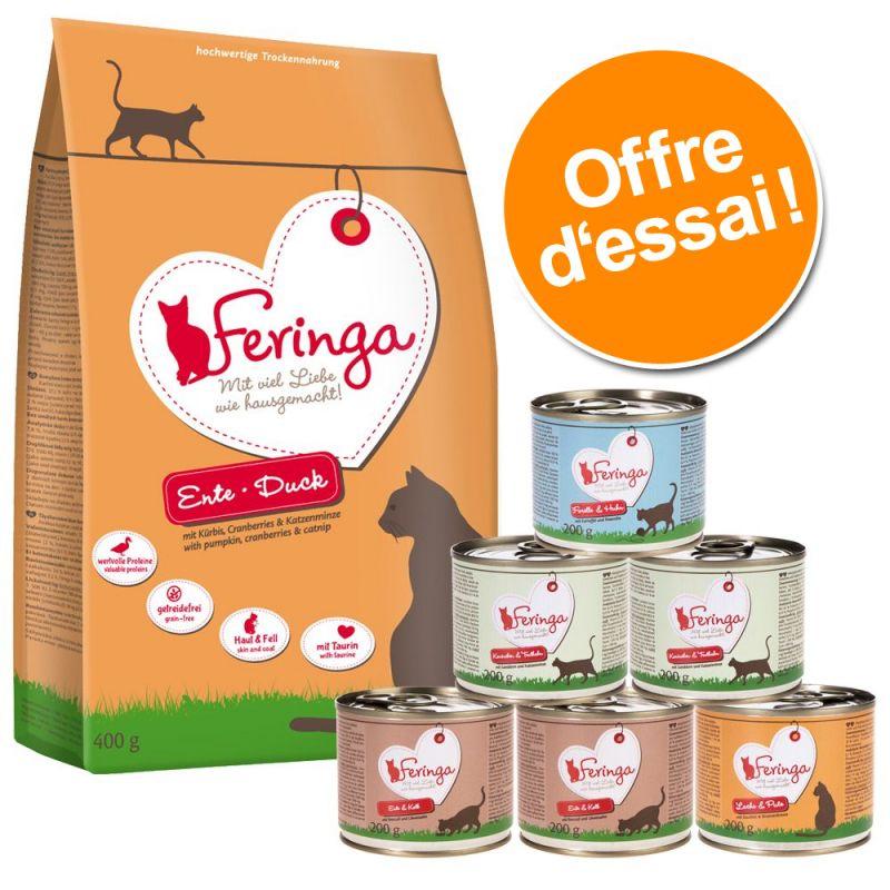 Offre découverte Feringa : croquettes et nourriture humide