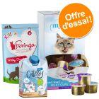 Offre découverte friandises au lait : snacks et laits pour chat