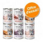 Offre découverte lot mixte Wolf of Wilderness Adult Free Range : 15 % de remise !