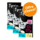 Offre découverte : Lot Tigeria Milk Cream Snack 24 x 10 g pour chat
