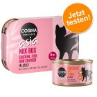 Offre découverte mixte Cosma Asia en gelée pour chat