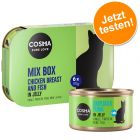 Offre découverte mixte Cosma Original en gelée pour chat