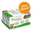Offre découverte Pâtés Applaws 5 x 150 g pour chien