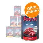 Offre découverte Rocco Classic 6 x 400 g pour chien
