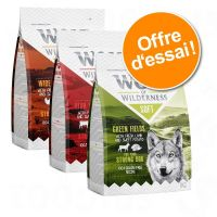 Offre découverte Wolf of Wilderness Soft & Strong 3 x 1 kg