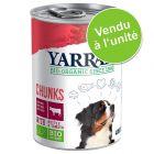 Offre découverte Yarrah Bio 1 x 405 g / 400 g / 380 g pour chien