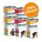 Offre découverte Yarrah Bio 6 x 400/405 g pour chien