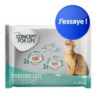 Offre d'essai Concept for Life 4 x 85 g