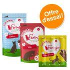 Offre d'essai Feringa : Crunchy Bites + bâtonnets + friandises pour chat