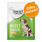 Offre d'essai : Friandises Concept for Life Insect Snack