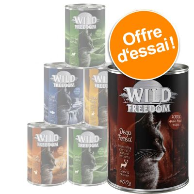 Offre d'essai : lot mixte Wild Freedom Adult