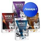 "Offre d'essai mixte Wolf of Wilderness Adult ""Elements"""