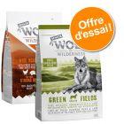 Offre d'essai Wolf of Wilderness Senior 2 x 1 kg pour chien
