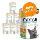 Offre d'essai Yarrah Bio Pâté 6 x 400 g pour chat