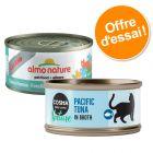 Offre exceptionnelle Almo Nature Legend 24 x 70 g & Cosma Nature 6 x 70 g pour chat