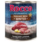 Omejena izdaja: Rocco zimski meni govedina s puranom & krompirjem