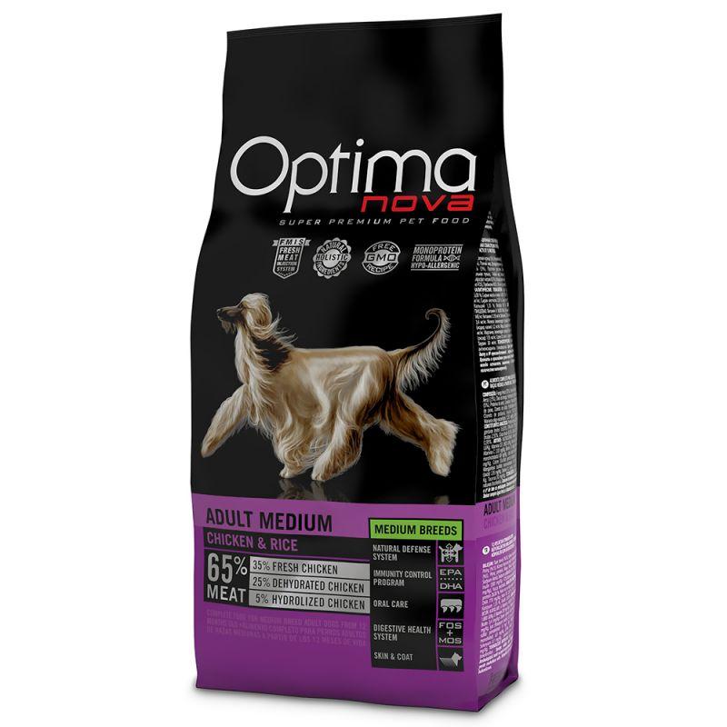 Optimanova Medium Adult Chicken & Rice