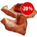 Orejas de cerdo premium de Baviera para perros ¡a precio especial!
