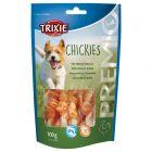 Os à mâcher Trixie Chickies, calcium & blanc de poulet