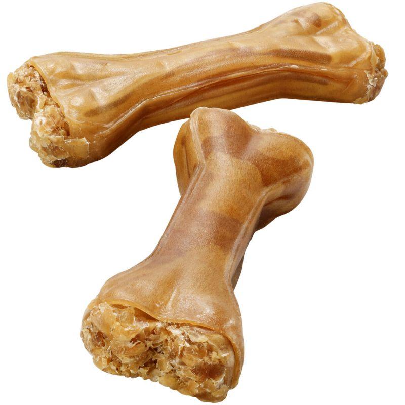 Ossos 100 % pele de cavalo