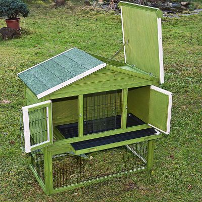 Outback All-Seasons Rabbit Hutch with Run