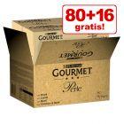 80 + 16 på köpet! Jumbopack: Gourmet Perle 96 x 85 g