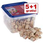 5 + 1 på köpet! 6 kg DogMio Mark Nuggets / Bonies