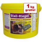 4 + 1 på köpet! 5 kg Marstall Stall-mineralkex