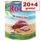 20 + 4 på köpet! Rocco World Trip