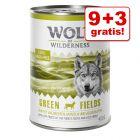 9 + 3 på köpet! Wolf of Wilderness 12 x 400 g
