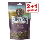 2 + 1 på köpet! 3 x 100 g Happy Dog Soft Snack