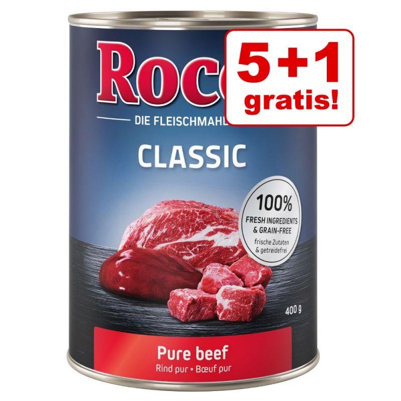 5 + 1 på köpet!  6 x 400 g Rocco Classic