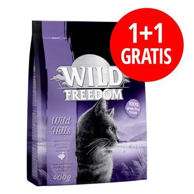 1 + 1 på köpet! 2 x 400 g Wild Freedom torrfoder till kanonpris | bitiba.se