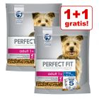 1 + 1 på köpet! 2 x 1,4 kg Perfect Fit hundfoder