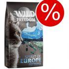 2 + 1 på köpet! 3 x 2 kg Wild Freedom torrfoder katt