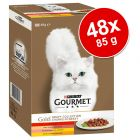 Pacco misto Gourmet Gold 48 x 85 g