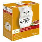 Pacco misto Gourmet Gold 24 x 85 g