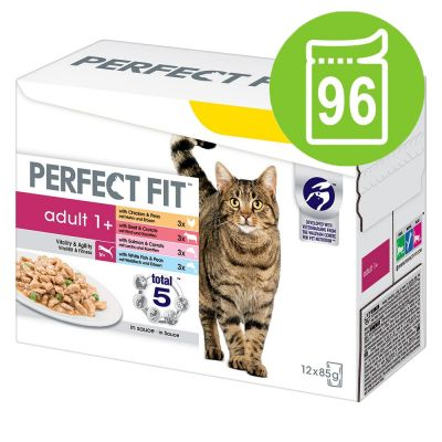 Pacco misto Perfect Fit Adult 1+ 96 x 85 g