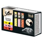 Pacco misto Sheba Creamy Snacks 18 x 12 g